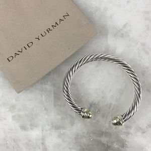 David Yurman Cable Classics Two-Toned Bracelet